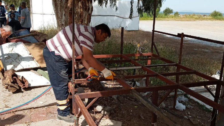 Mavişehir Pazaryeri sezon öncesi bakıma alındı