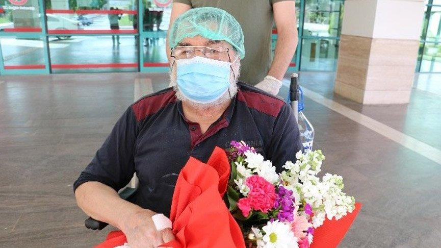 74 yaşında corona virüsünü ikinci kez yendi!