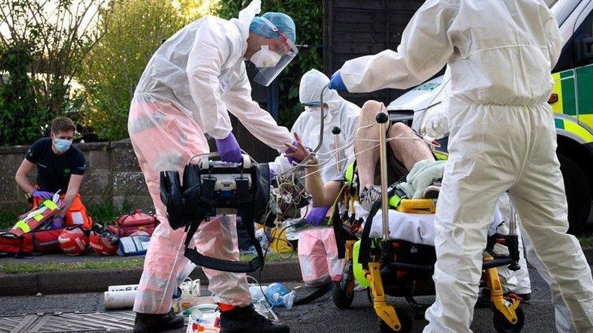 Birleşik Krallık'ta güncel ölü ve vaka sayısı açıklandı