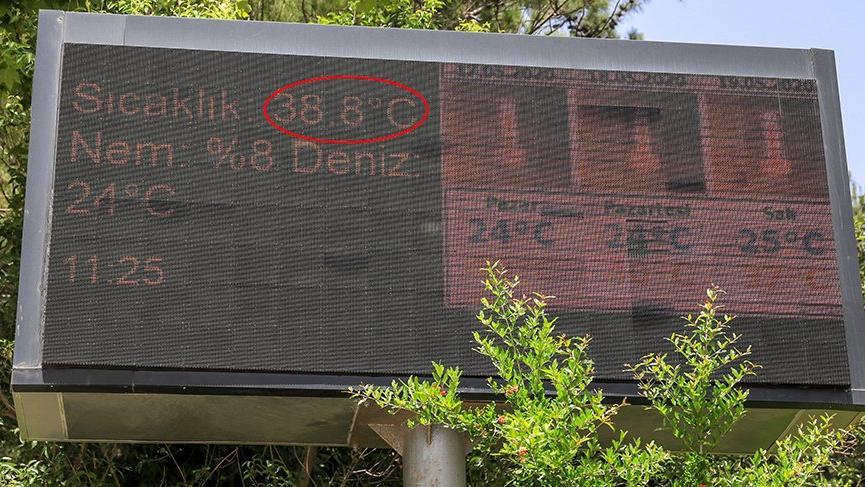 Antalya'da son 75 yılın sıcaklık rekoru kırıldı