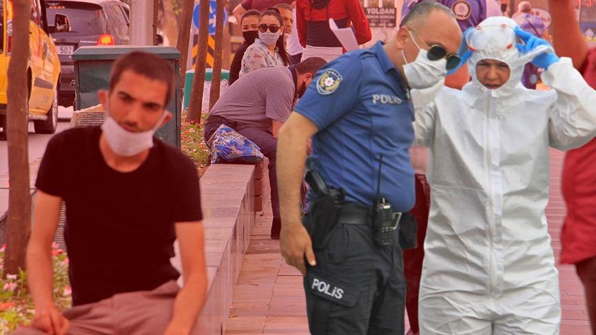 Polisi alarma geçiren olay... Karantinadan kaçtı, babasından kaçamadı
