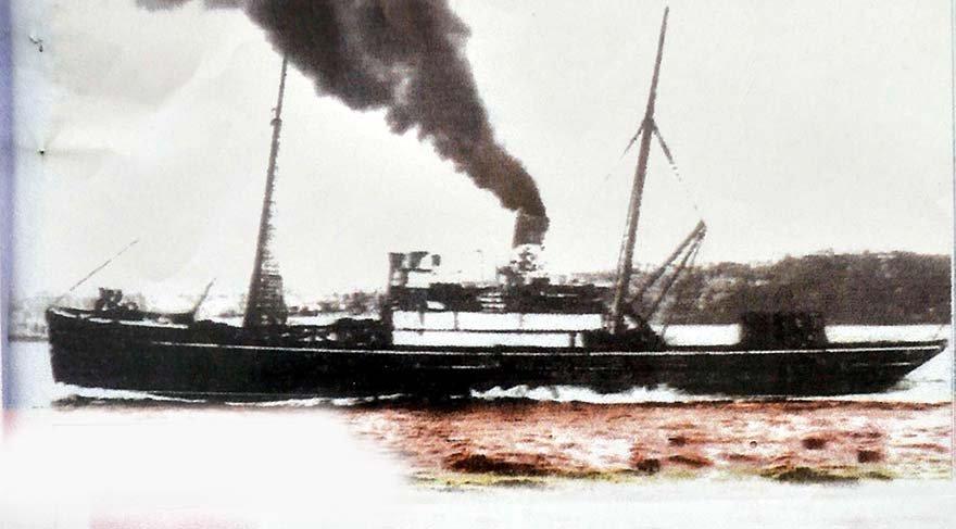 Mustafa Kemal'in Bandırma Vapuru'yla yolculuğu 3 gün sürdü.