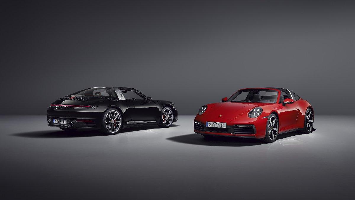 İşte yeni Porsche 911 Targa...