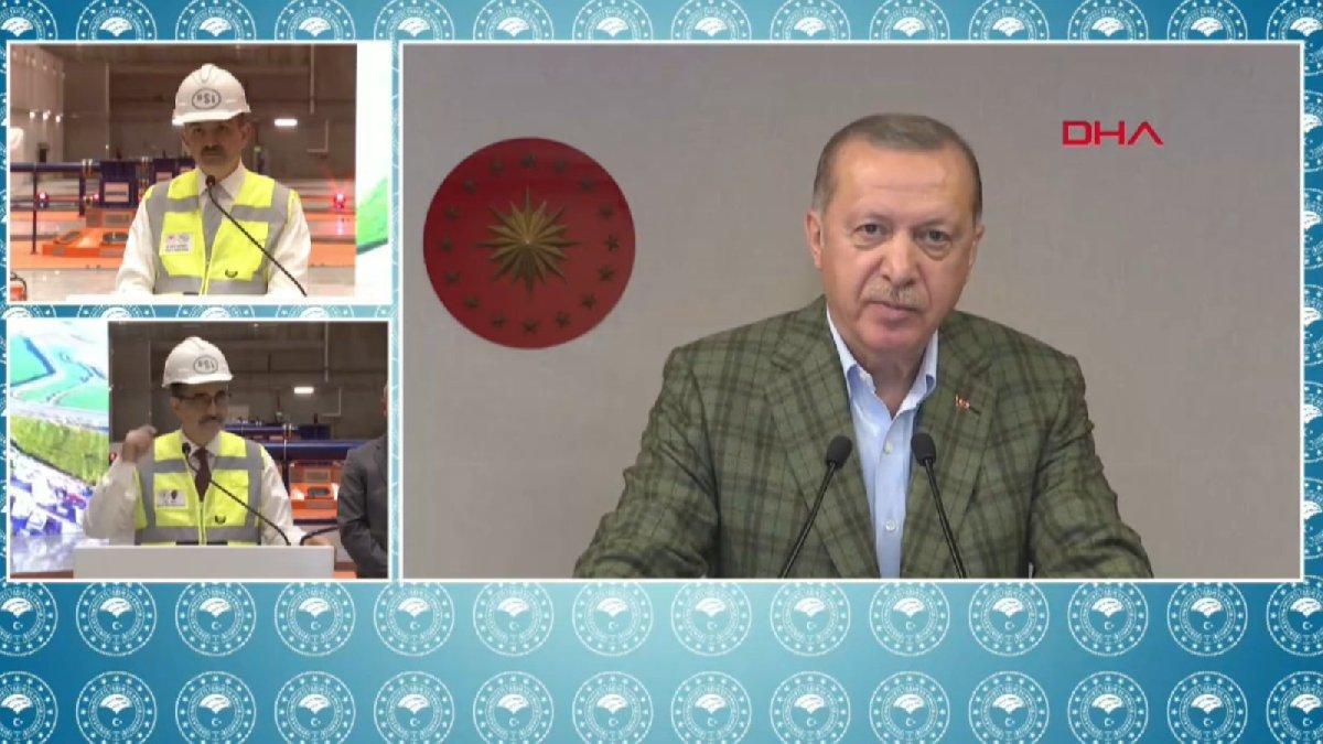 Ilısu'nun ilk türbini devreye girdi... Erdoğan duyurdu: Yıl sonunda tam kapasite!