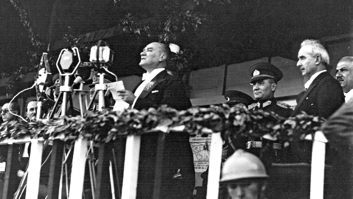 Atatürk'ün 19 Mayıs konuşması...