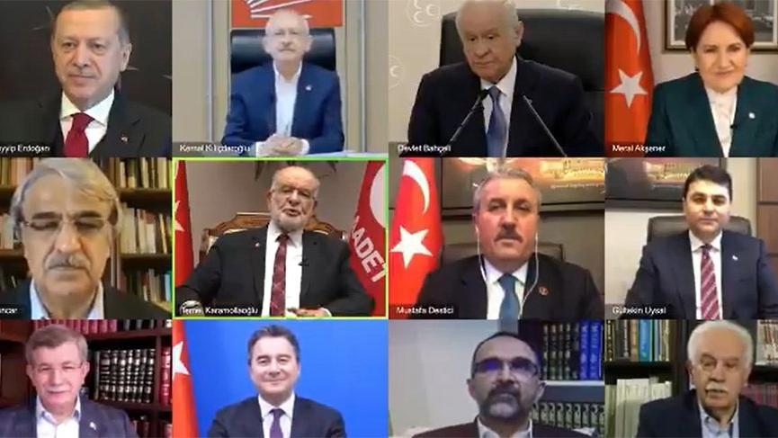 Saadet Partisi, siyasi liderleri klipte buluşturdu