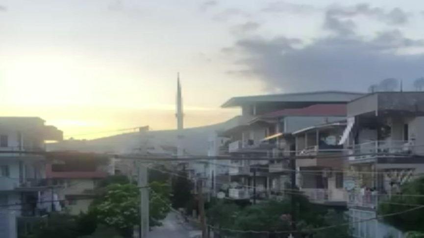 Cami provokasyonu sonrası merkezi ezana ara verildi