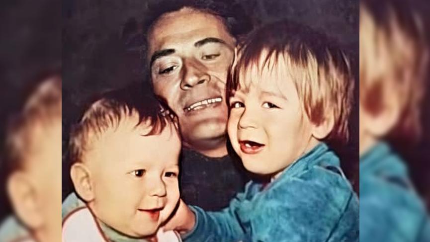 Cüneyt Arkın oğulları paylaştı '40 yıl önce 40 yıl sonra' dedi