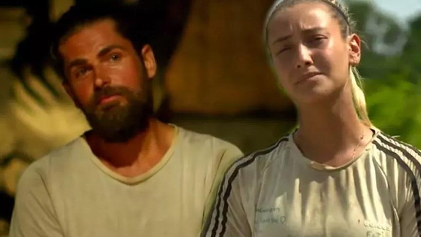Survivor Evrim'in Mert'in vedasına verdiği tepki dikkat çekti. Survivor'da yeni aşk iddiası!