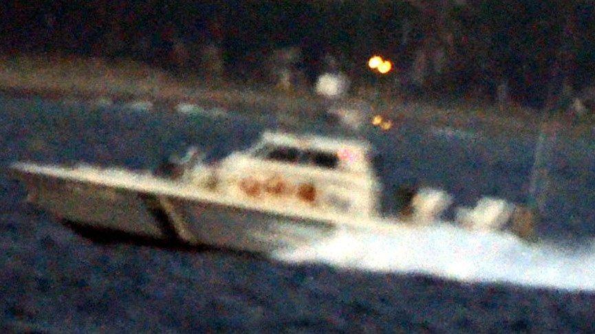 Bodrum açıklarında Türk teknesine Yunanlardan taciz atışı!
