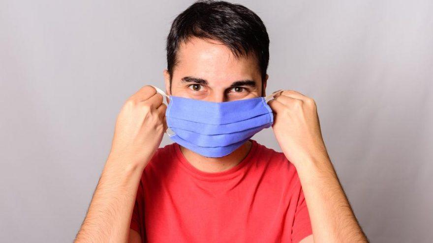 Ev yapımı maskeler ve eşarplar da corona virüsünün yayılmasını önlüyor!