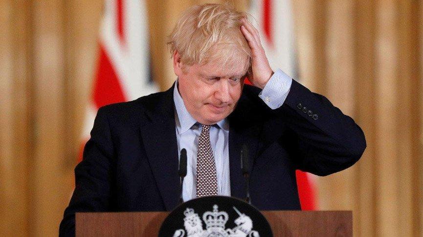 İngiltere Kamu Hizmetleri'nin Boris Johnson'ı eleştiren tweeti silindi