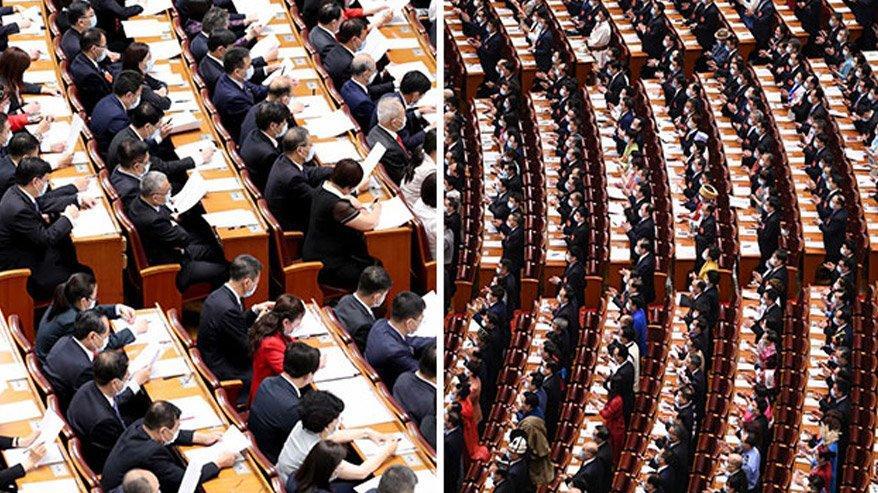 Coronanın ortaya çıktığı Çin'de skandal görüntü!