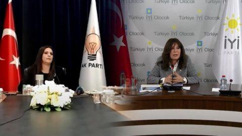 AKP - İYİ Parti bayramlaşmasında tansiyon yükseldi!