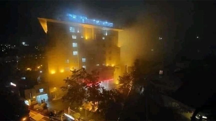 Hastanede yangın: 5 corona hastası öldü
