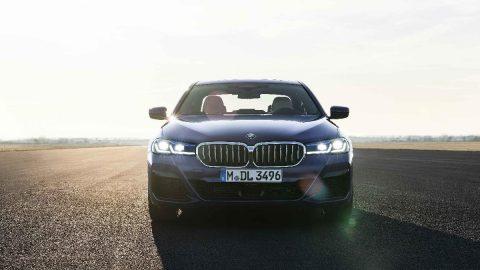İşte makyajlanan BMW 5 Serisi...