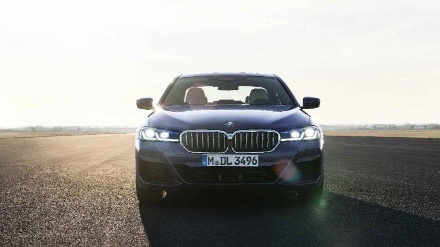 İşte makyajlanan BMW 5 Serisi…