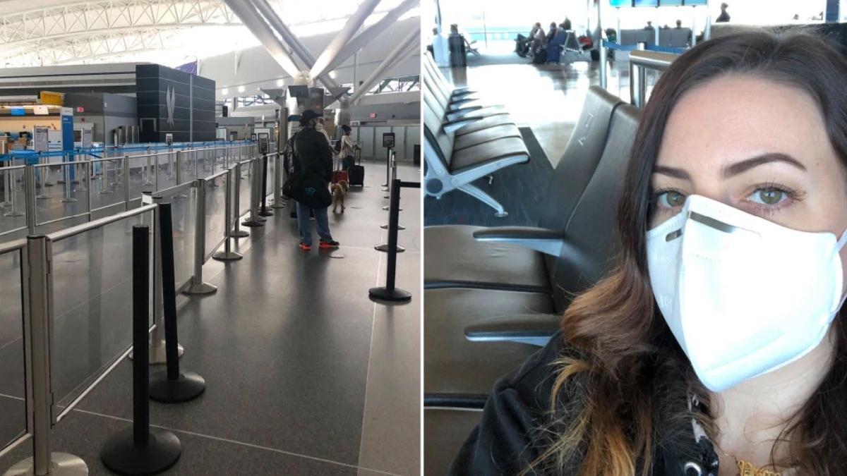 ABD'li muhabir corona salgınında uçak yolculuğunu anlattı: Hayatımın en güzel tecrübesiydi