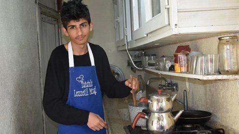 Köy evinde yaptığı yemeklerle takipçi sayısı 1 milyonu geçti