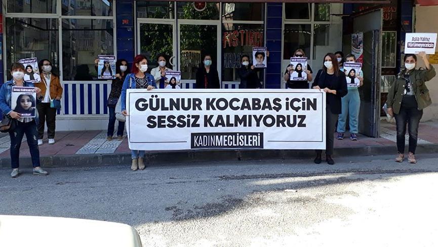 Kadınlar Gülnur Kocabaş cinayetini protesto etti