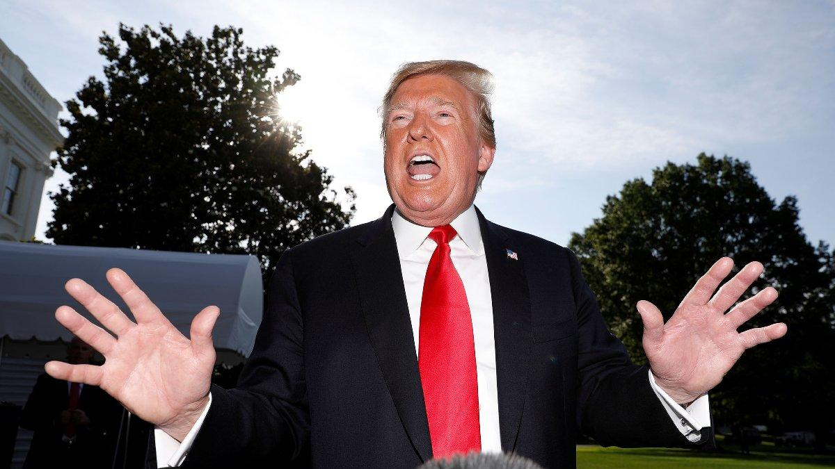 Trump'tan açık açık gözdağı: Durmazlarsa ateş açarız