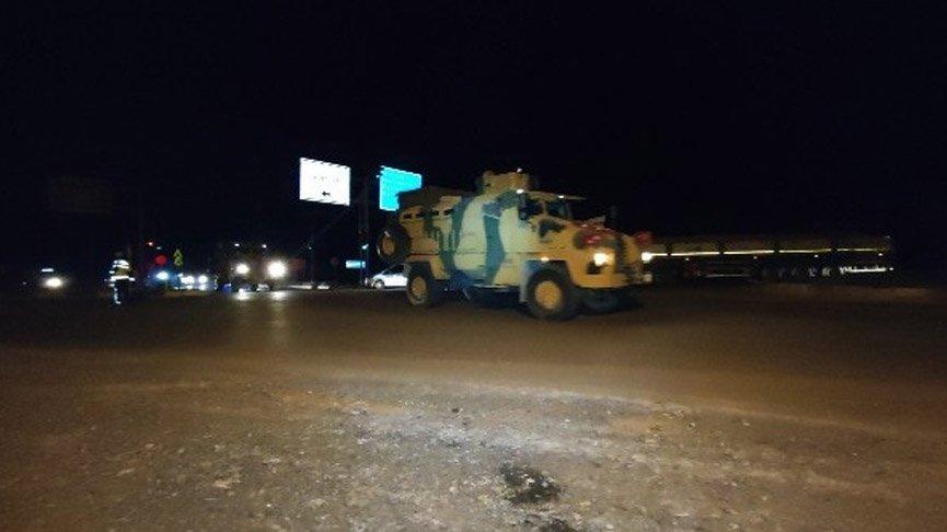 Suriye sınırına askeri personel sevkiyatı!