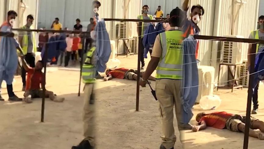 Kuveyt'ten gelen işçiden sarsıcı görüntüler! 'Acıyla kıvranarak öldü'