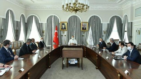 İstanbul Valiliği'nde corona virüsü toplantısı yapıldı!