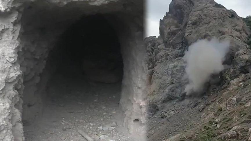 Türk komandosu teröristlerin mağarasını imha etti