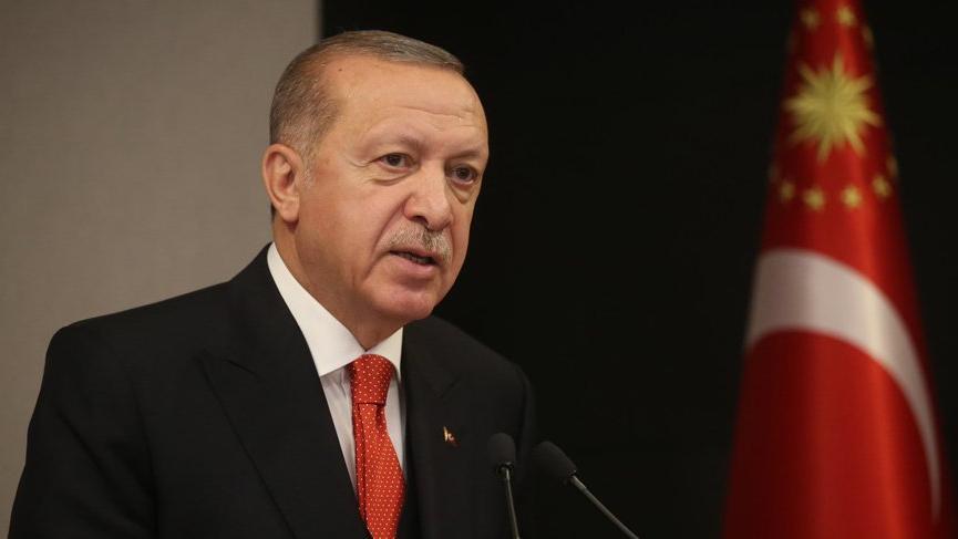 Erdoğan'dan aşı zirvesine corona virüsü mesajı!