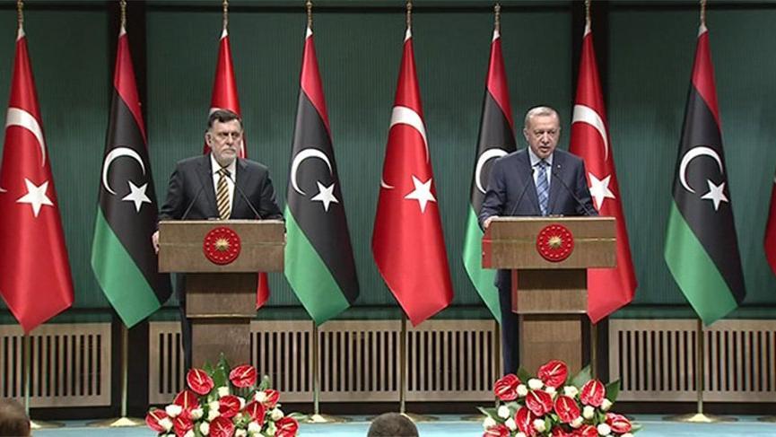 Ankara'da kritik zirve! Erdoğan: Libya'yı kan ve gözyaşına boğanları tarih yargılayacaktır