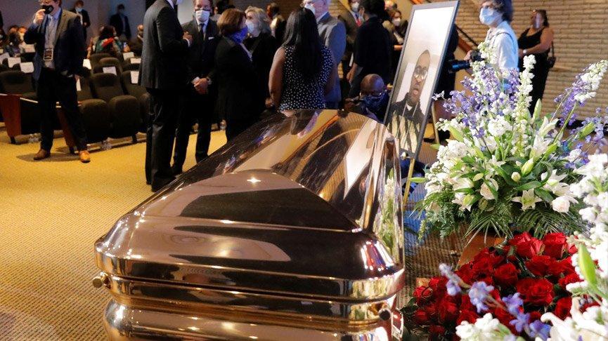 Son dakika... ABD'de binlerce kişi George Floyd'u anmak için toplandı