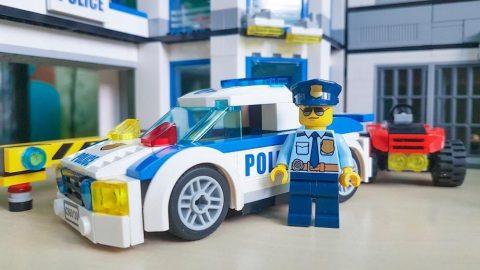 Lego polis oyuncakları promosyonlarını ve reklamlarını kaldırdı