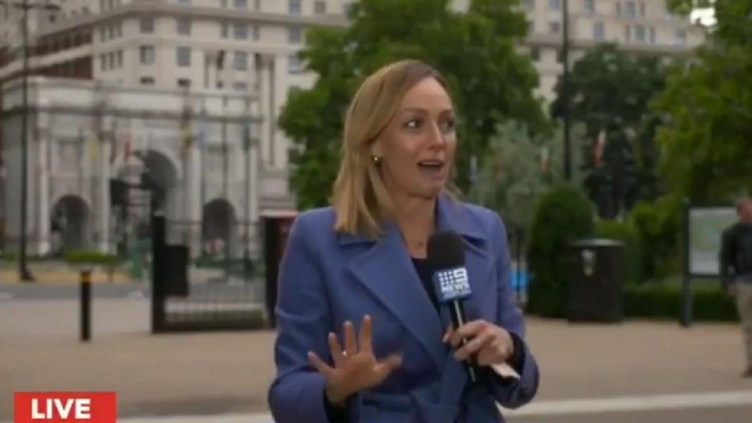 George Floyd eylemlerinde muhabire şok! Canlı yayında saldırdı