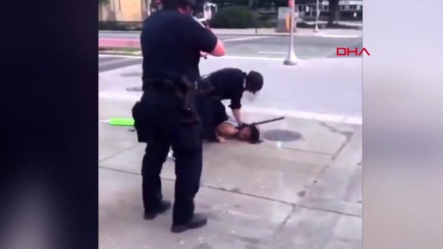 ABD'de polisin eylemcilere sert müdahalesi sürüyor