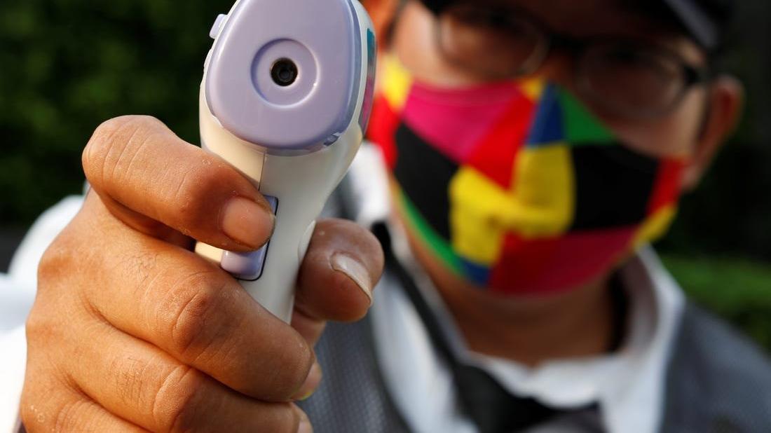 ABD'de corona virüsüyle gelen yeni meslek: Ateş ölçücüler