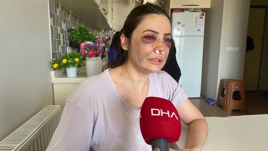 İstanbul'da kadına şiddet... Boşanmak isteyen eşine dehşeti yaşattı!