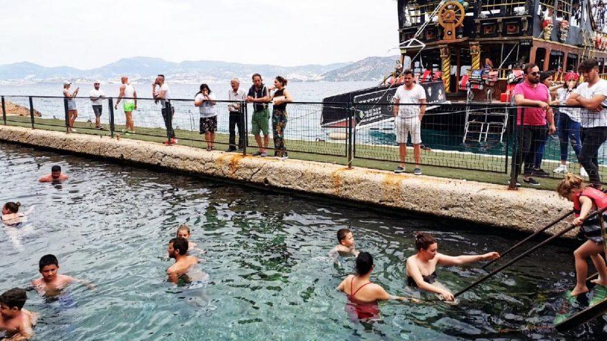Bodrum'da sosyal mesafeli tekne turları başladı