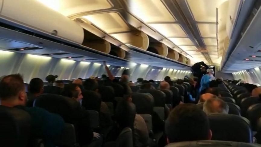 Yolcular isyan etti: Uçakta ve form doldurma sırasında virüsü kesin kaptık
