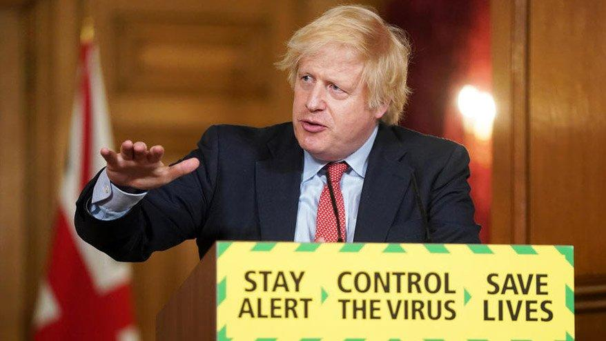 Boris Johnson duyurdu! İngiltere'de yeni normalleşme kararları...