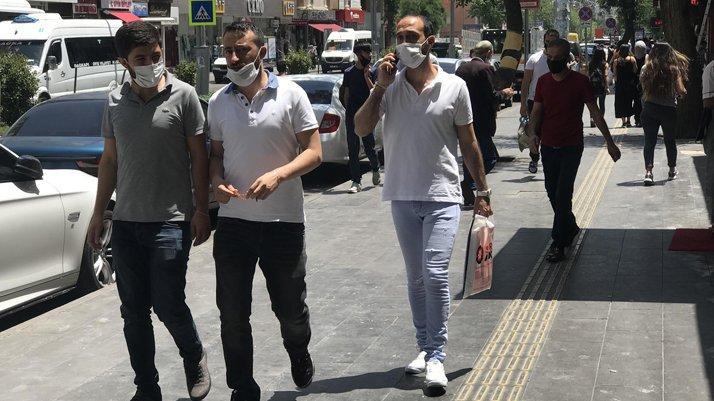 Diyarbakır'da maskesiz sokağa çıkma yasağı başladı