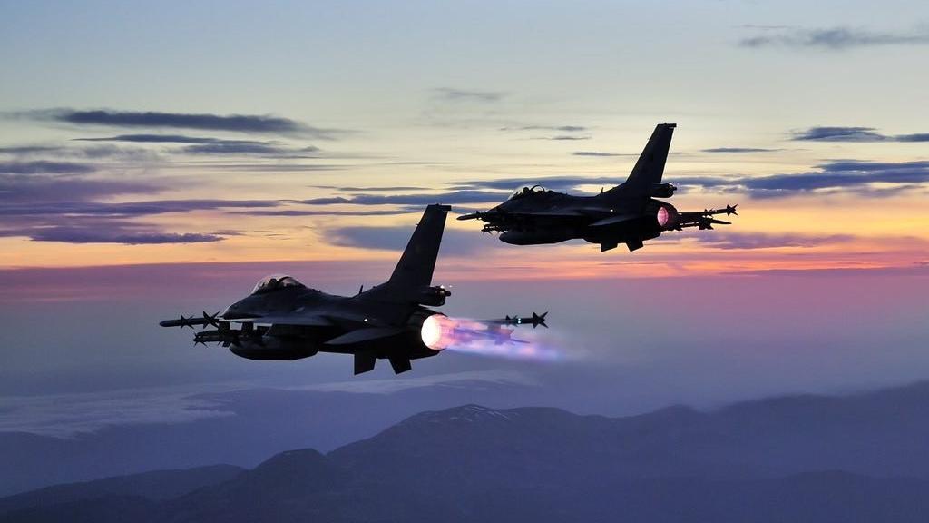 PKK'lı teröristlere hava harekatı