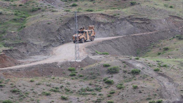 İki işçinin şehit olduğu bölgede operasyonlar sürüyor