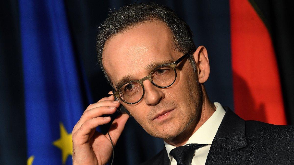 Alman Dışişleri Bakanı Maas'tan Türkiye açıklaması: Yakın temas halindeyiz
