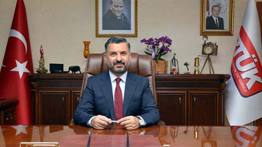 RTÜK Başkanı Şahin, Halkbank Yönetim Kurulu üyeliğine seçildi!