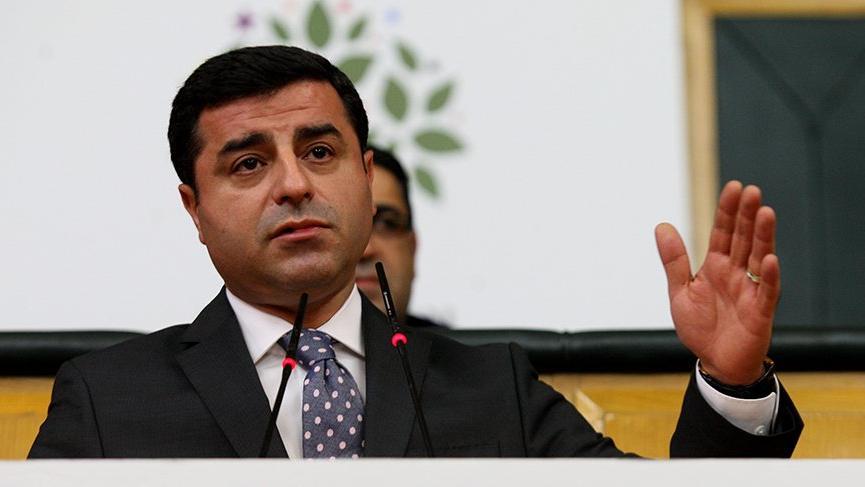 Demirtaş: HDP, CHP veya İYİ Parti ile açık veya gizli hiçbir şekilde ittifak yapmamıştır