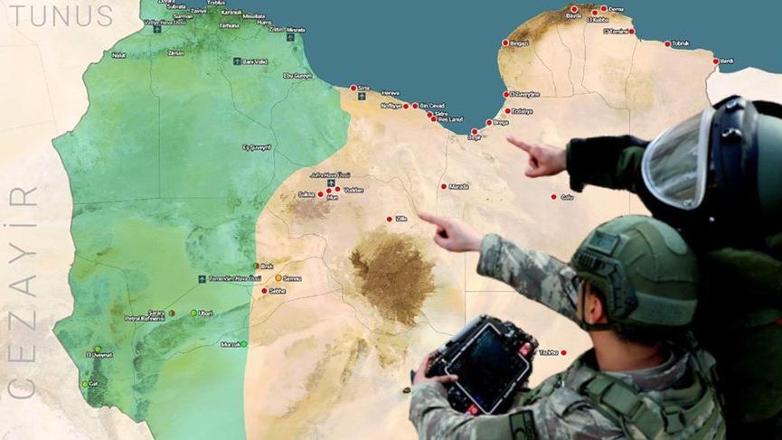 Milli Savunma Bakanlığı Libya'dan ilk kez fotoğraf paylaştı ...