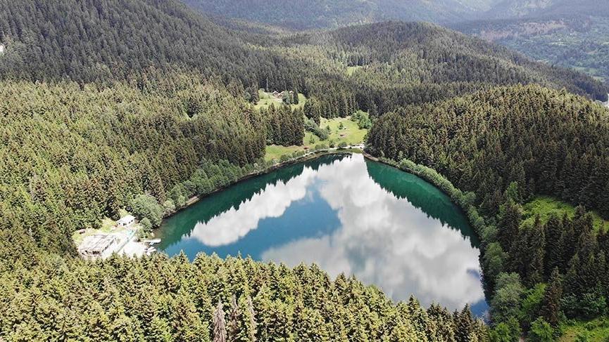 Artvin'de turizmin kalbi Şavşat Karagöl'de atıyor