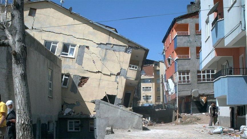Cumhuriyet tarihi boyunca Bingöl'de 6 ölümcül depremde bin 538 kişi hayatını kaybetti