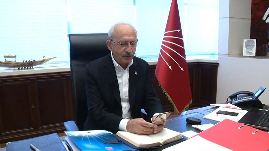 Kılıçdaroğlu, Bingöl Valisi Ekinci'den hasar bilgisi aldı